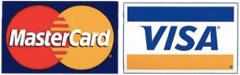 Payment providers MasterCard and Visa